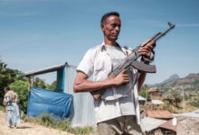 An Ethiopian fighter from Amhara