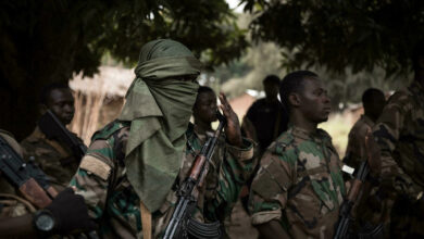 Central African Armed Forces soldiers