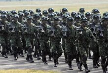 Taiwanese soldiers
