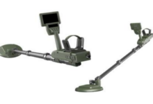 Rendering of Hanwha's mine detection system