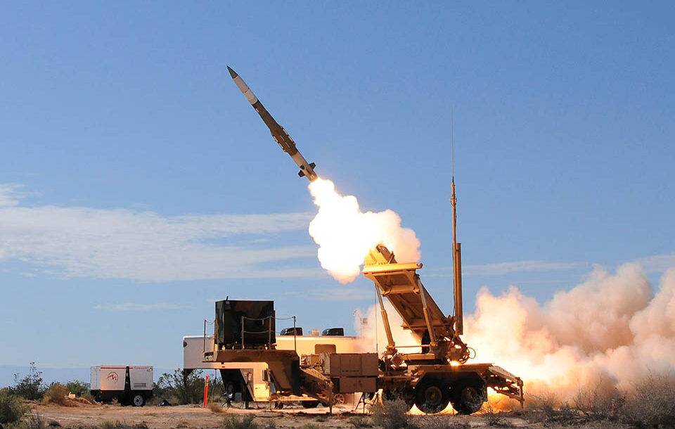 A PAC-3 Missile